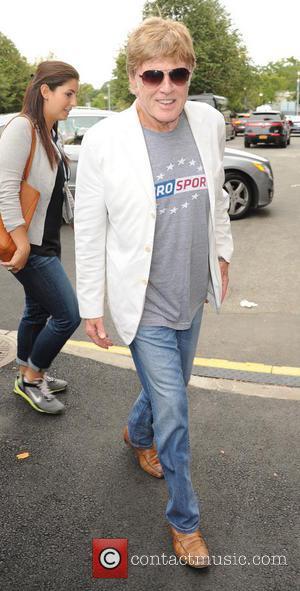 Robert Redford - 2014 Tennis U.S. Open - Men's Final - Celebrity Sightings - Flushing Meadows, New York, United States...