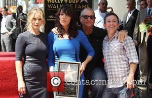 Christina Applegate, Ed O'Neill, Katey Sagal and David Faustino - Katey Sagal at her Hollywood Walk of Fame star ceremony...
