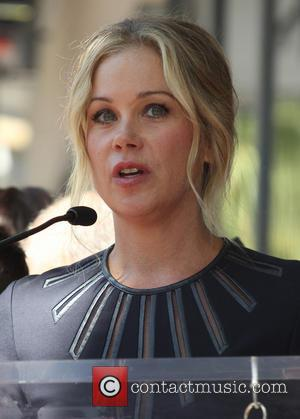 Christina Applegate - Katey Sagal at her Hollywood Walk of Fame star ceremony - Hollywood, California, United States - Tuesday...