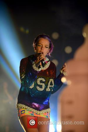 Lily Allen - Lily Allen performing live in concert at Fillmore Miami Beach - Miami Beach, Florida, United States -...
