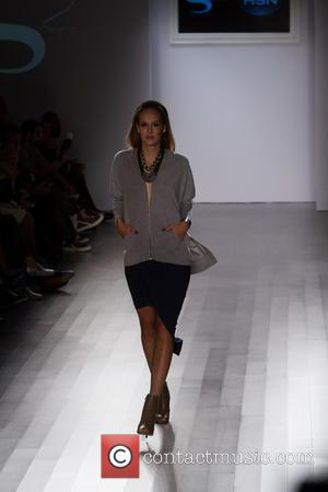 Model - Mercedes-Benz New York Fashion Week Spring 2015 - Style 360 and HSN Presents Serena Williams - Runway -...