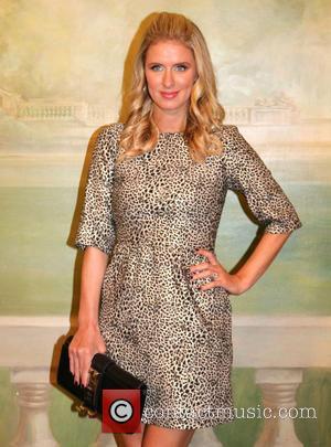 Nicky Hilton - Mercedes-Benz New York Fashion Week Spring 2015 - Alice + Olivia by Stacy Bendet - Inside Arrivals...