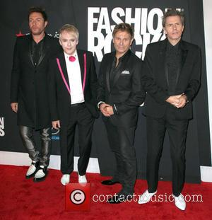 Duran Duran - Fashion Rocks 2014 held at the Barclays Center - Arrivals - New York City, New York, United...