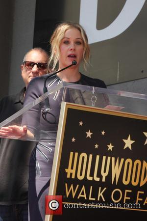 Christina Applegate - Katey Sagal at her Hollywood Walk of Fame star ceremony - Los Angeles, California, United States -...