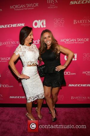 Teresa Aprea and Nicole Napoli - OK! Magazine's 8th Annual NY Fashion Week Celebration Hosted by Nicky Hilton Held at...