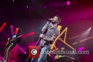 Adam Levine and Maroon 5 - American band Maroon 5 who have had hits with songs such as 'Moves like...