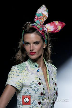Alessandra Ambrosio parades - Alessandra Ambrosio presents 'La vida es chula' at Desigual in Madrid - Madrid, Spain - Thursday...