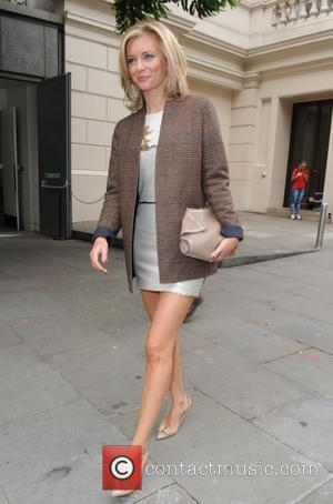 Rachel Riley - Julien Macdonald catwalk show at the Royal Opera House in London - London, United Kingdom - Saturday...