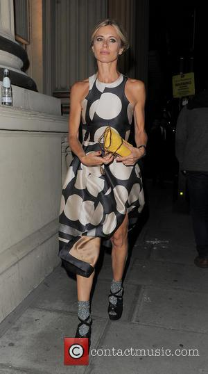 Laura Bailey - London Fashion Week Spring/Summer 2015 - Celebrity Sightings - London, United Kingdom - Sunday 14th September 2014
