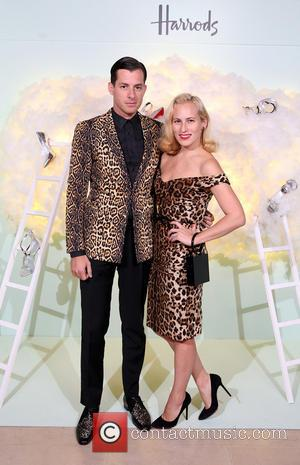 Mark Ronson and Charlotte Olympia - Harrods, together with its shoe partner Kurt Geiger, hosted an exclusive cocktail party during...
