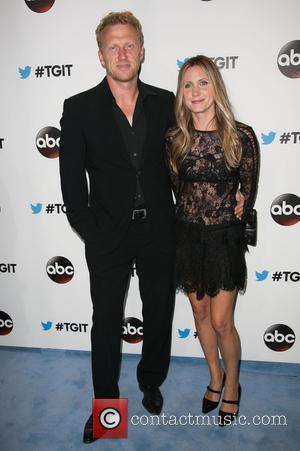 Kevin McKidd and Jane Parker - Stars were snapped at the Palihouse in West Hollywood for the TGIT Premiere Event...
