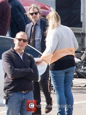 Gary Oldman - Filming of new movie 'Criminal' - London, United Kingdom - Sunday 21st September 2014