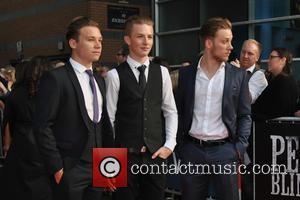 Joe Cole, Finn Cole and Harry Kirton - Special screening of  'Peaky Blinders' - Arrivals at Cineworld - Birmingham,...