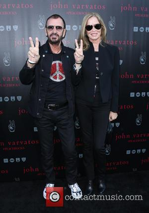 Ringo Starr and Barbara Bach - A number of stars we're snapped as they arrived at John Varvatos' International Day...