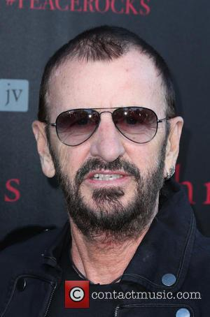 Ringo Starr - A number of stars we're snapped as they arrived at John Varvatos' International Day of Peace Celebration...