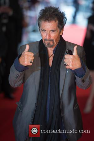 Al Pacino - Stars arrived at the South bank in London for the Gala screening of 'Salome' London, United Kingdom...