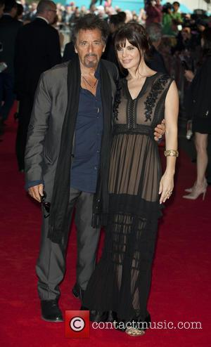 Al Pacino and Lucila Polak - Gala screening of 'Salome' - Arrivals at BFI Southbank, South Bank - London, United...