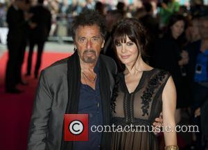 Al Pacino and Lucila Polak - Gala screening of 'Salome' - Arrivals at BFI Southbank, South Bank - London, United...