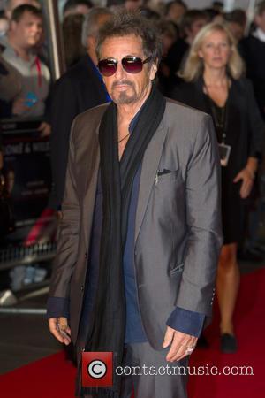 Al Pacino - Gala screening of 'Salome' - Arrivals at Southbank, South Bank - London, United Kingdom - Sunday 21st...