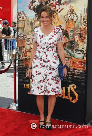 Amy Brenneman - Stars of the new animated, adventure comedy 'The Boxtrolls' were photographed on the red carpet as they...