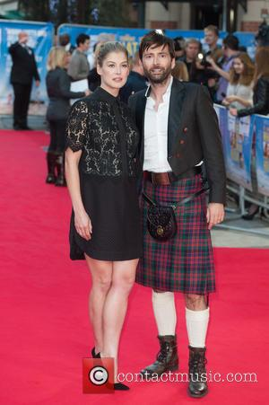 Rosamund Pike and David Tennant - Snaps of the stars as they took to the red carpet for the premier...