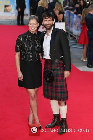 Rosamund Pike and David Tennant - The World Premiere of