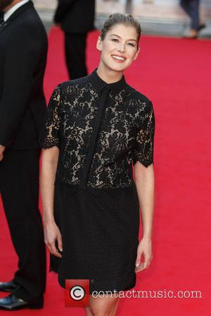Rosamund Pike - 'What We Did on Our Holiday' premiere at Leicester Square, Odeon West End - London, United Kingdom...