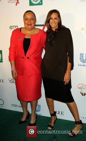 Donna karen and Sophia Martelly - Fashion 4 Development presents the First Ladies Luncheon in New York, New York, United...
