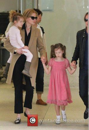 Nicole Kidman, Sunday Rose Kidman Urban and Faith Margaret Kidman Urban - Australian actress known for her roles in films...
