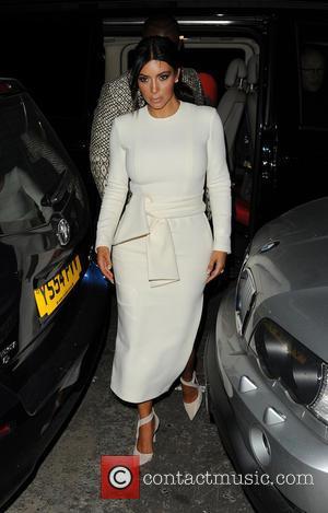 Kim Kardashian and Kanye West - Kim Kardashian and Kanye West - London, United Kingdom - Tuesday 23rd September 2014