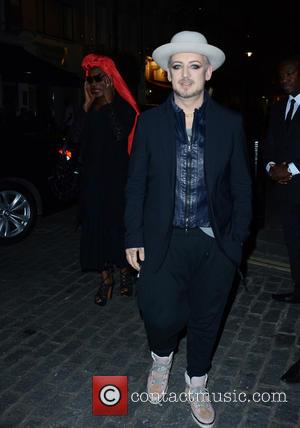 Boy George - Snaps of guests including Boy George at the modern Italian restaurant and bar Gigi's of Mayfair Pre-launch...