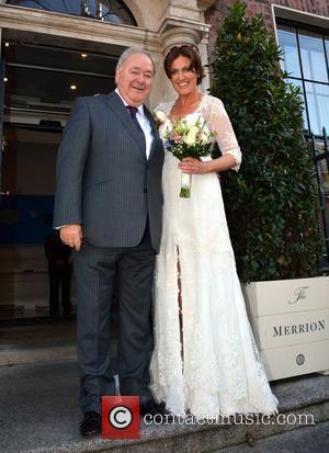 Brian Wogan and Paula Wogan - Terry Wogan niece Wedding - Dublin, Nevada, Ireland - Friday 26th September 2014
