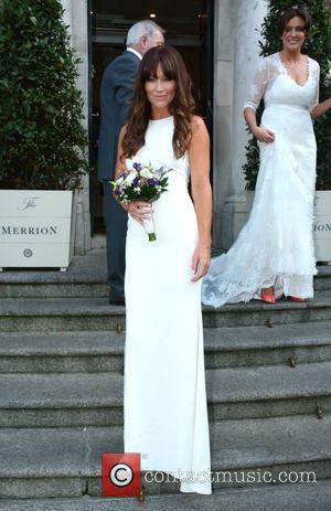 Jane Wogan and Paula Wogan - Terry Wogan niece Wedding - Dublin, Nevada, Ireland - Friday 26th September 2014