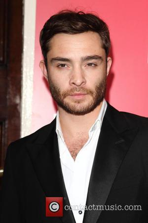 Ed Westwick - The opening of the National Theatre's production of Great Britain at the Theatre Royal Haymarket - Arrivals...