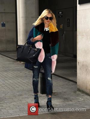 Fearne Cotton - Celebrities at the BBC Radio 1 studios - London, United Kingdom - Friday 26th September 2014