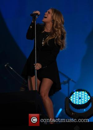 Carrie Underwood - A host of musical stars including Jay-Z and Alicia Keys performed live at the 3rd Annual Global...