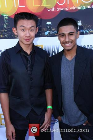 Anthony Gallegos and Andrew Wu - A host of celebrities turned out for the Stop Tour Launch Benefiting The Peace...