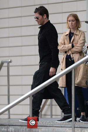 James Marsden - Celebrities at The Lowry Hotel at The Lowry Hotel, The Lowry - Manchester, United Kingdom - Tuesday...