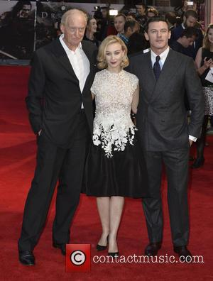 Charles Dance, Sarah Gadon and Luke Evans - Dracula Untold Premiere in Leicester Square. London, England, 01.10.14 - London, United...