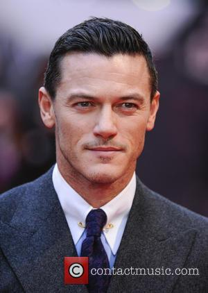 Luke Evans - Dracula Untold Premiere in Leicester Square. - London, United Kingdom - Wednesday 1st October 2014