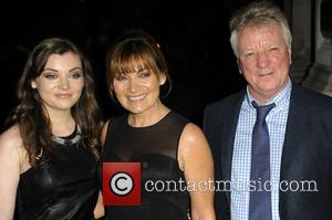 Lorraine Kelly, Rosie Smith and Steve Smith - A variety of British stars attended the event held at the Langham...