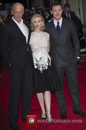Charles Dance, Sarah Gadon and Luke Evans - 'Dracula Untold' London premiere - London, United Kingdom - Wednesday 1st October...