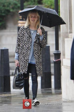 Fearne Cotton - Celebrities at the BBC studios - London, United Kingdom - Wednesday 1st October 2014