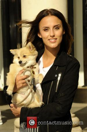 Lucy Watson - Lucy Watson attends PETA photocall at Covent Garden - London, United Kingdom - Wednesday 1st October 2014