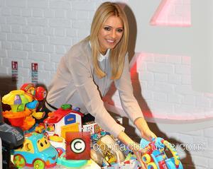 Tess Daly - The third annual Argos Toy Exchange at Argos, Tottenham Court Road - London, United Kingdom - Wednesday...