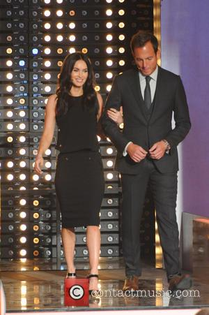 Megan Fox and Will Arnett - Shots from German Entertainment TV show 'Wetten, dass..?' held at Messehalle (which translates to...
