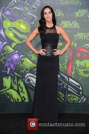 Megan Fox - Stars from the blockbuster movie 'Teenage Mutant Ninja Turtles' attended the German premiere at the UFO Sound...