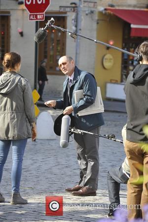 James Spader - James Spader on the set of the Blacklist - Manhattan, New York, United States - Monday 6th...