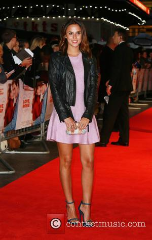 Lucy Watson - 'Love, Rosie' world premiere at Odeon West End - London, United Kingdom - Monday 6th October 2014