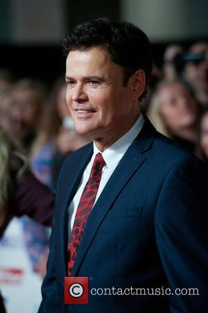 Donnie Osmond - Pride of Britain Awards at Grosvenor Hotel, Grosvenor House - London, United Kingdom - Monday 6th October...